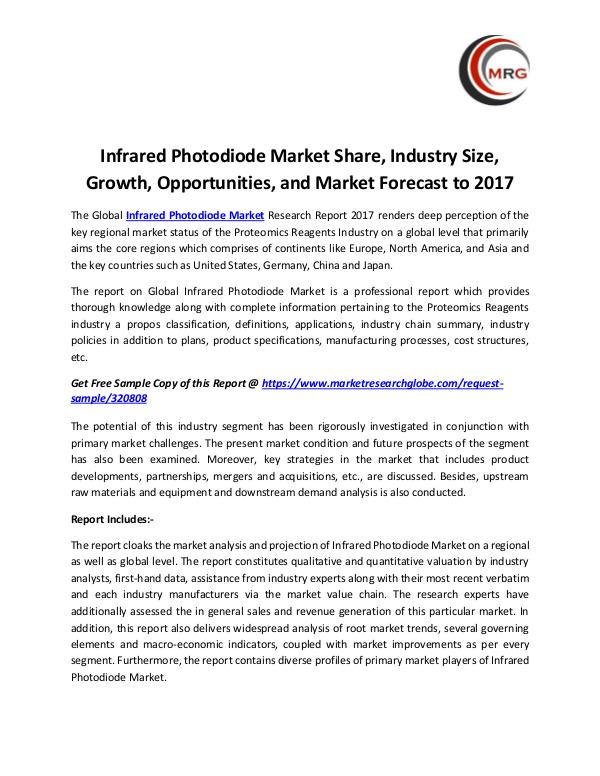 QY Research Groups Infrared Photodiode Market Share, Industry Size, G