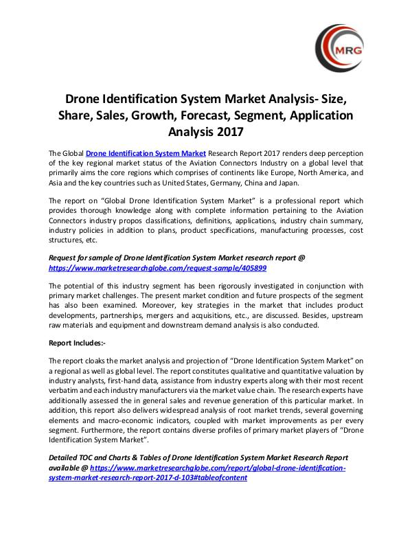 QY Research Groups Drone Identification System Market Analysis- Size,