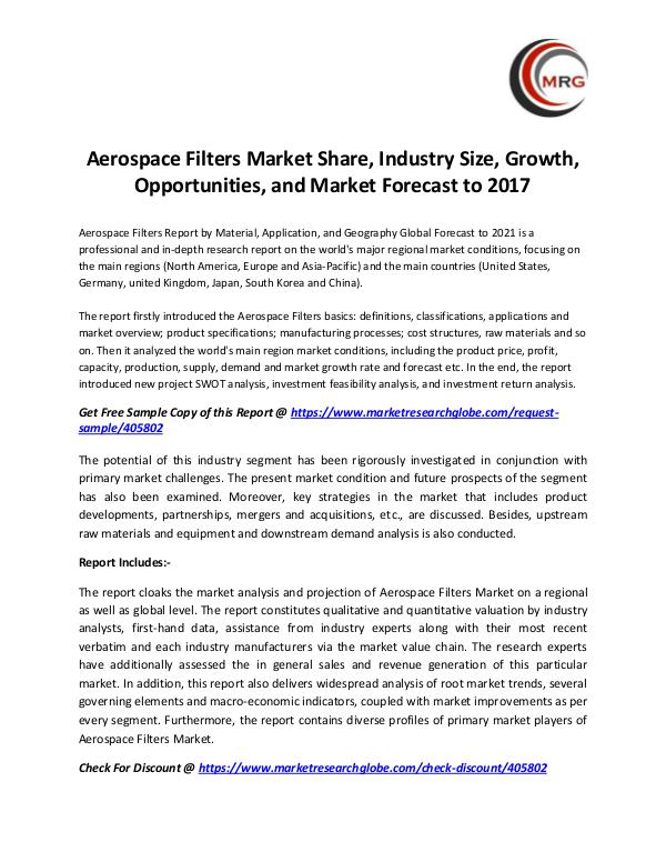 QY Research Groups Aerospace Filters Market Share, Industry Size, Gro