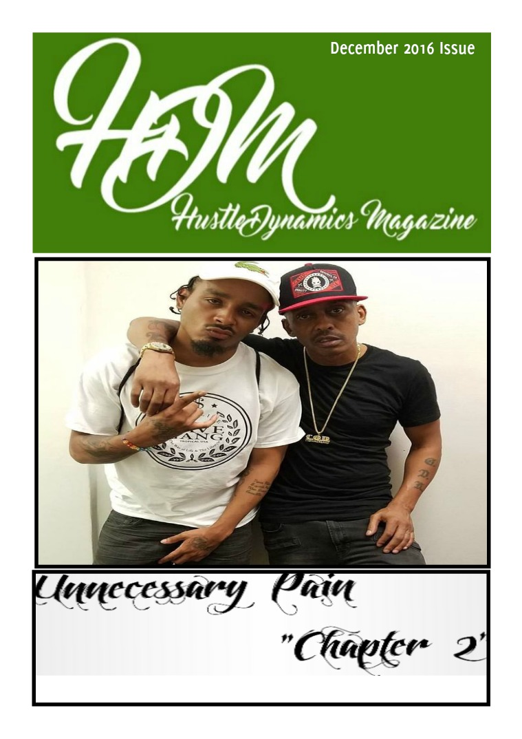 HUSTLE DYNAMICS MAGAZINE December 2016 Issue