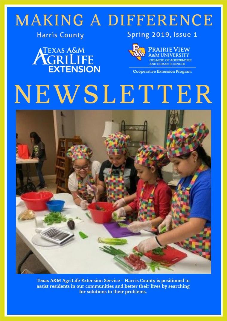 Making A Difference Newsletter, Issue 1, Volume 19 (Spring, Mar 2019) Issue 1, Volume 19 (March)