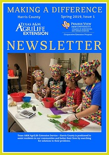 Making A Difference Newsletter, Issue 1, Volume 19 (Spring, Mar 2019)