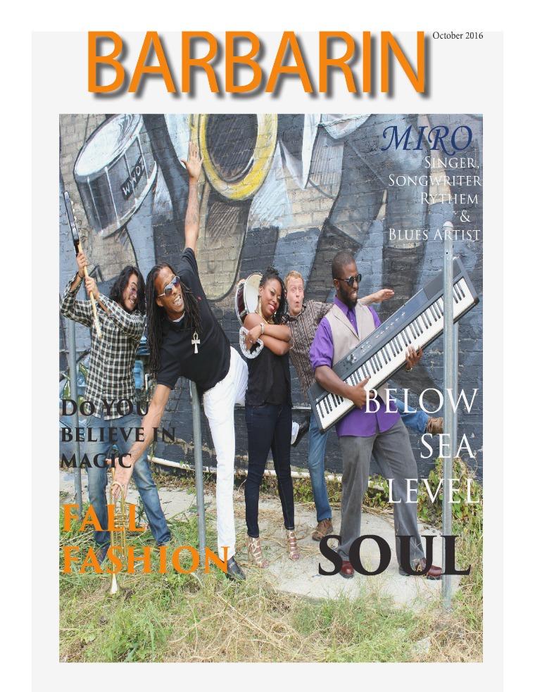 Barbarin Magazine Barbarin Magazine Vol 5