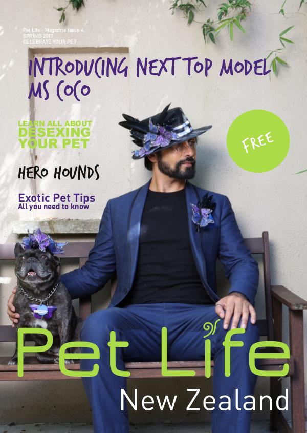 Pet Life Magazine, New Zealand Pet Life Magazine Issue 4 Spring 2017