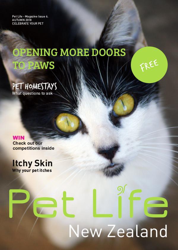 Pet Life Magazine, New Zealand Pet Life Magazine Issue 6 Autumn 2018