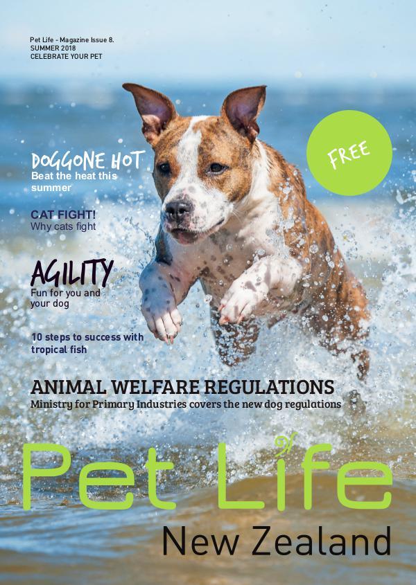 Pet Life Magazine, New Zealand Pet Life Magazine Issue 8 2018