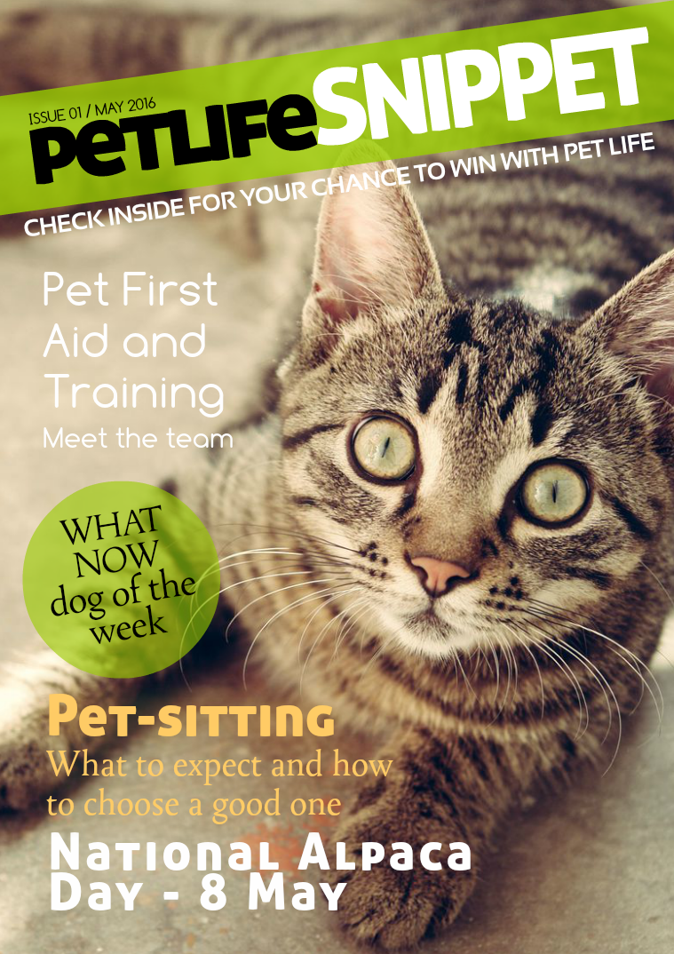 Pet Life SnipPET, New Zealand Issue 1 : May 2016