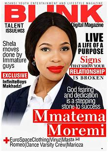 Blink Digital Magazine talent  issue number 03