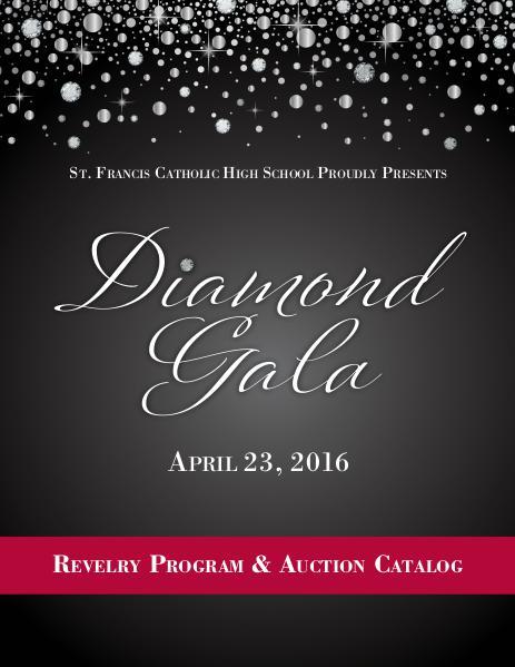 Revelry Program Diamond Gala 2016