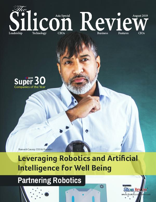 The Silicon Review - Best Business Review Magazine Super 30 Companies of the Year 2019