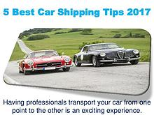 5 Best Car Shipping Tips 2017