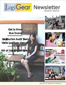 LogiGear Newsletter Issue 11