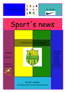 Sport's News (May.2013)