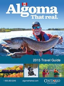 2015 Algoma Travel Guide