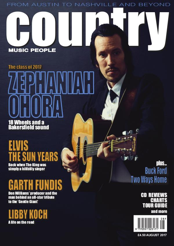 Country Music People August 2017