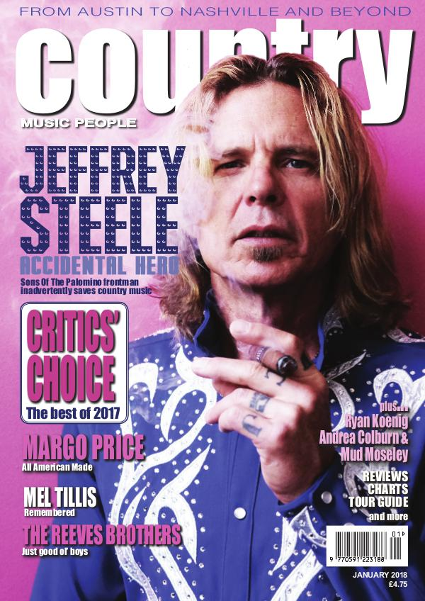 Country Music People January 2018