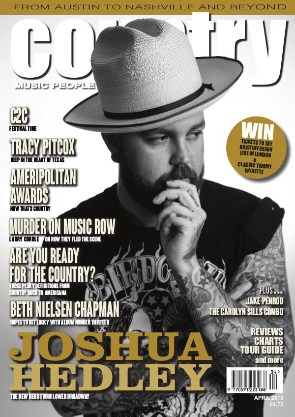 Country Music People April 2018