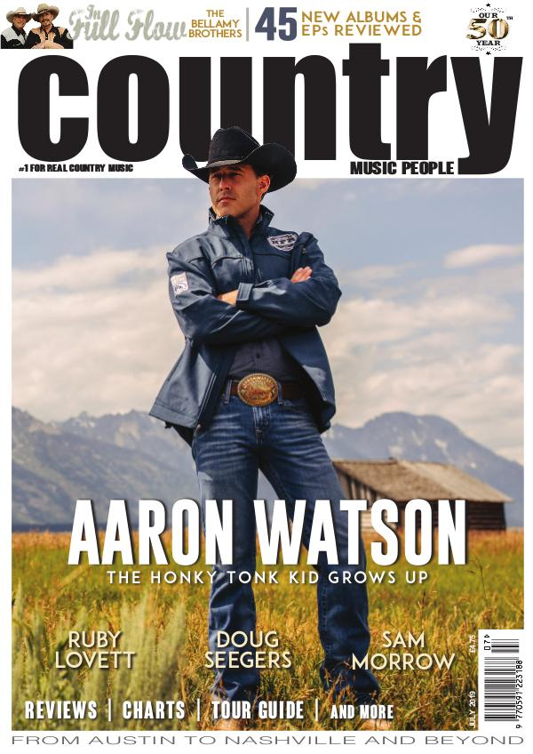 Country Music People July 2019