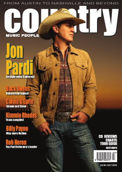 Country Music People July 2016