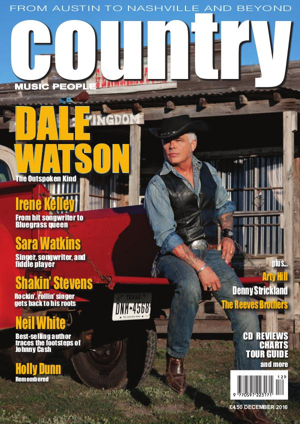 Country Music People December 2016