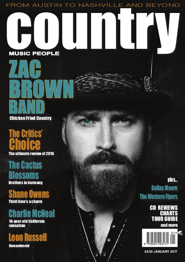 Country Music People January 2017