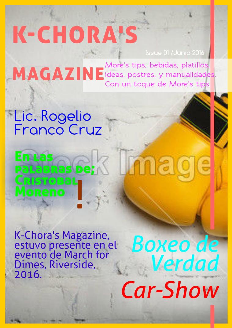K-Chora's Magazine 1
