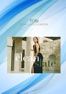 Tobi Clean Slate Lookbook