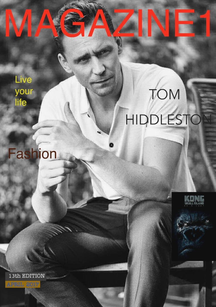 with TOM HIDDLESTON / 13th Edition !