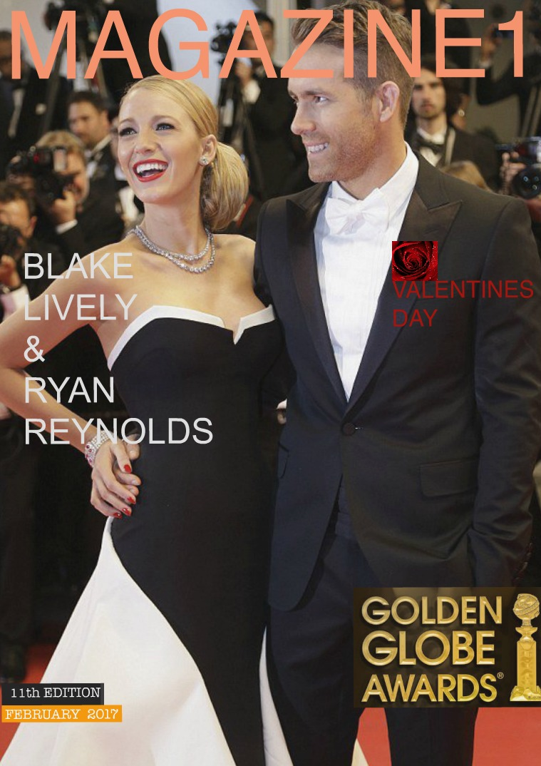 Magazine 1 / 11th edition with Blake Lively and Ryan Reynolds