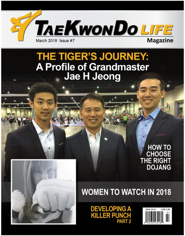 Tae Kwon Do Life Magazine April 2018