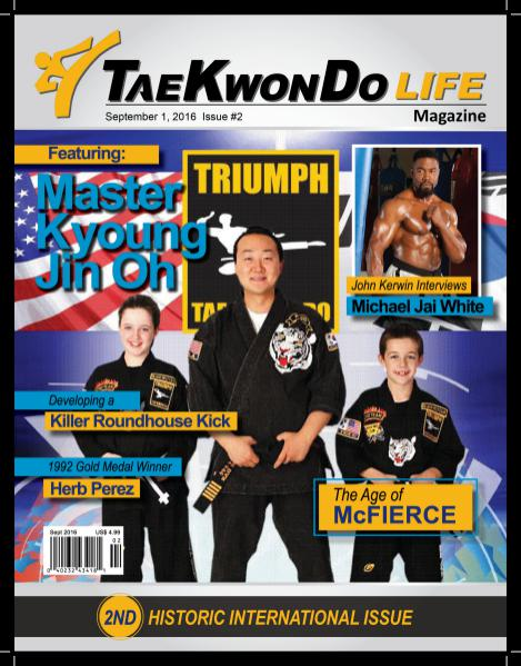 Tae Kwon Do Life Magazine September 2016