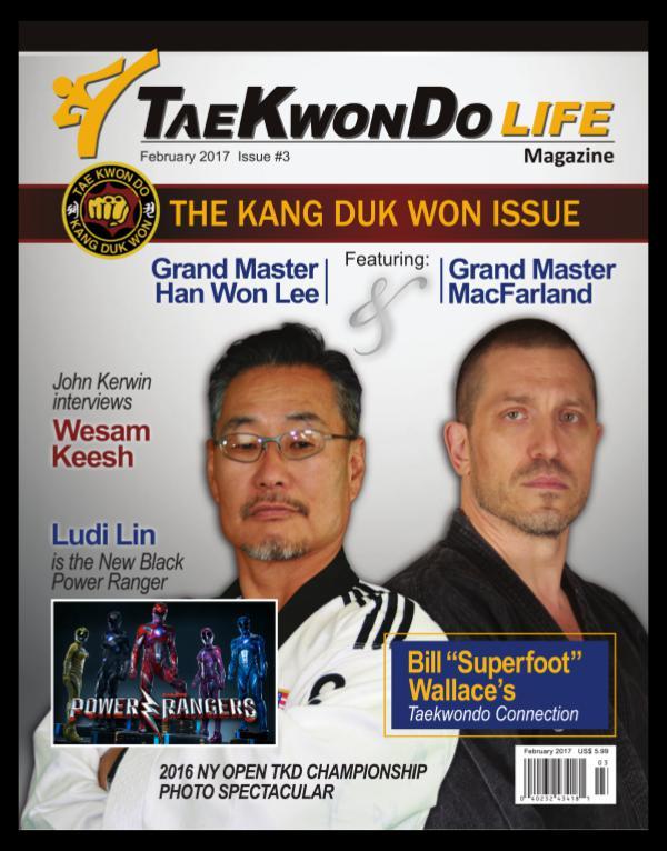 Tae Kwon Do Life Magazine February 2017