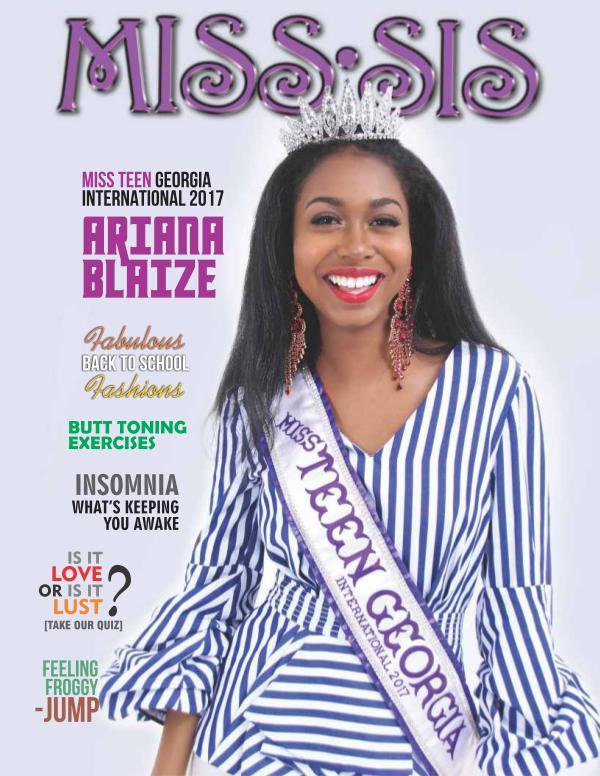 Miss Sis Magazine August 2017