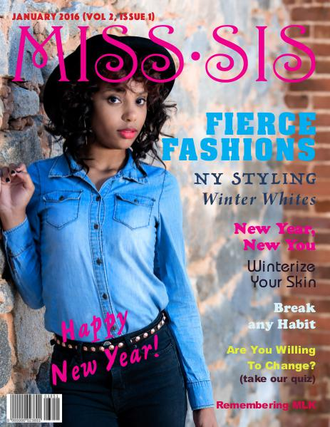 Miss Sis Magazine January 2016 Issue