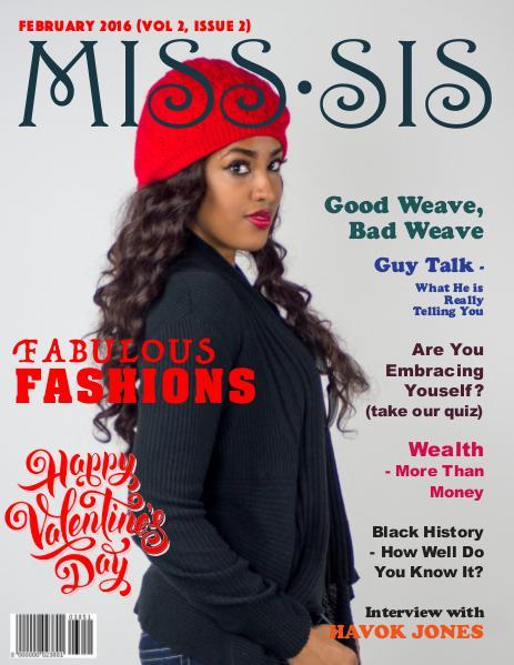 Miss Sis Magazine February 2016 Issue
