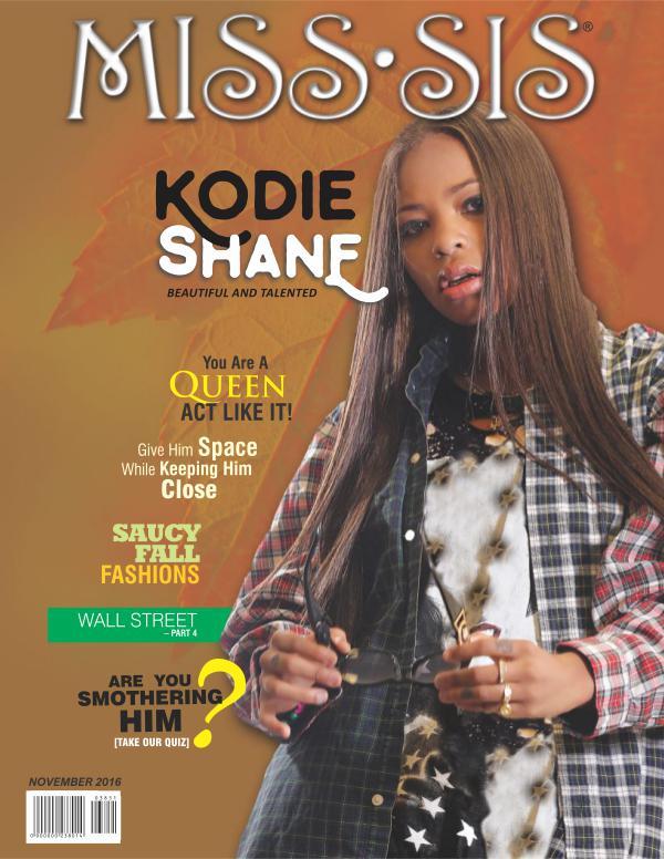 Miss Sis Magazine November 2016 Issue