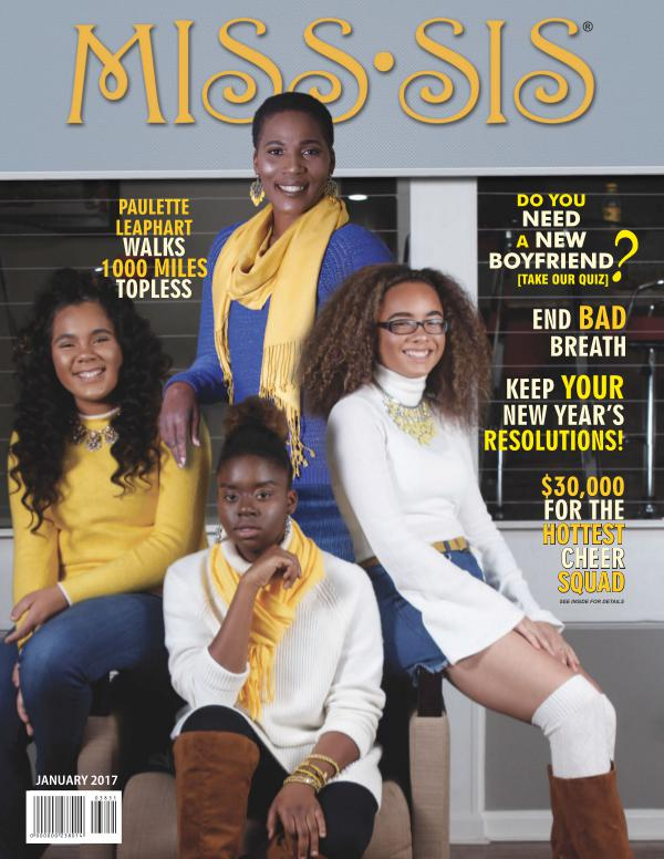 Miss Sis Magazine January 2017 Issue