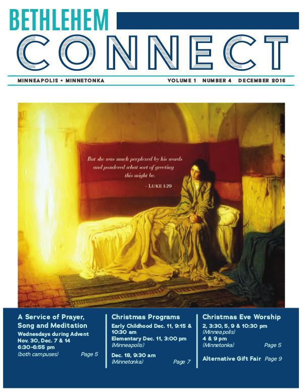 Bethlehem Connect December 2016