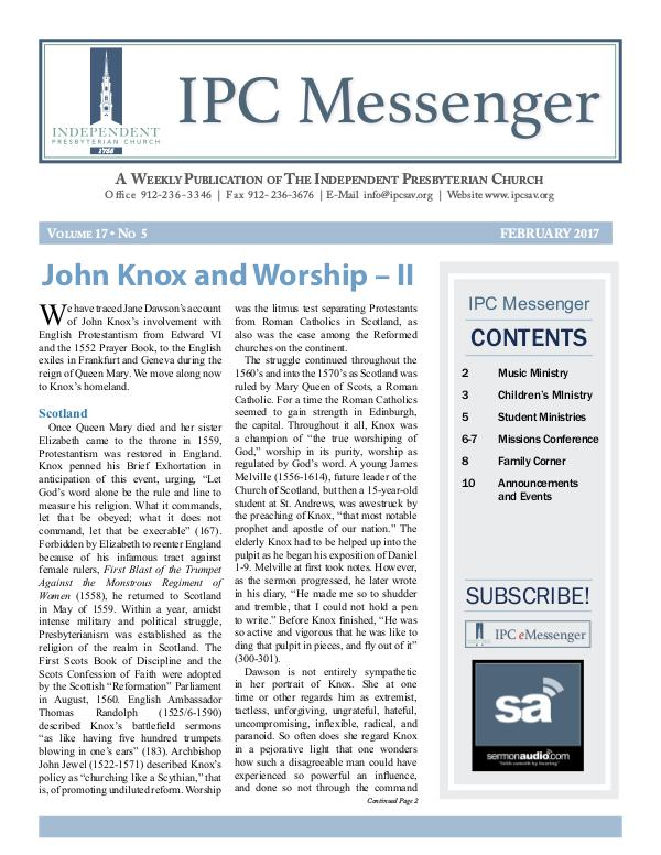IPC Messenger 2017 February 2017