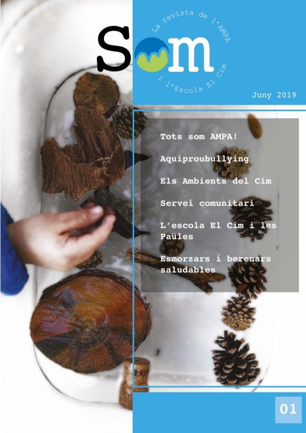 SOM - la revista de l'AMPA i l'Escola El Cim - Juny 2019 AMPA EL CIM REVISTA 2019