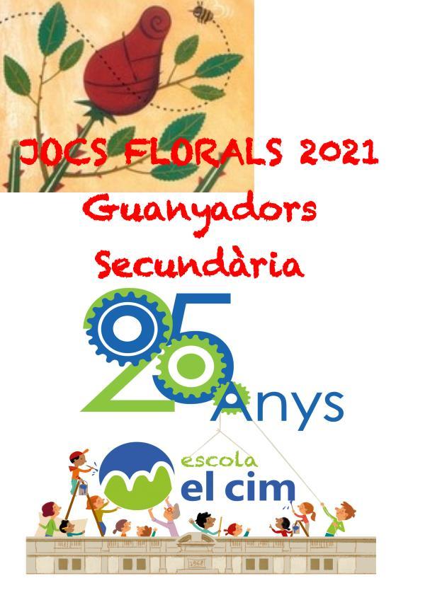 Jocs florals EL CIM 2021 - Guanyadors Secundària