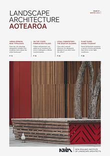 Landscape Architecture Aotearoa - Winter 2016