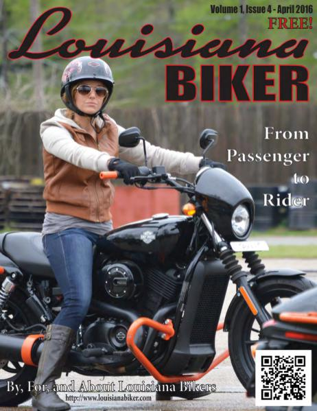 Louisiana Biker Magazine Apr2016