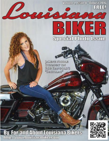 Louisiana Biker Magazine Aug2016
