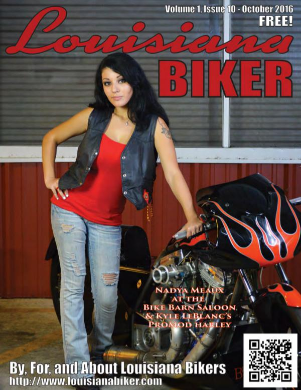 Louisiana Biker Magazine Oct2016