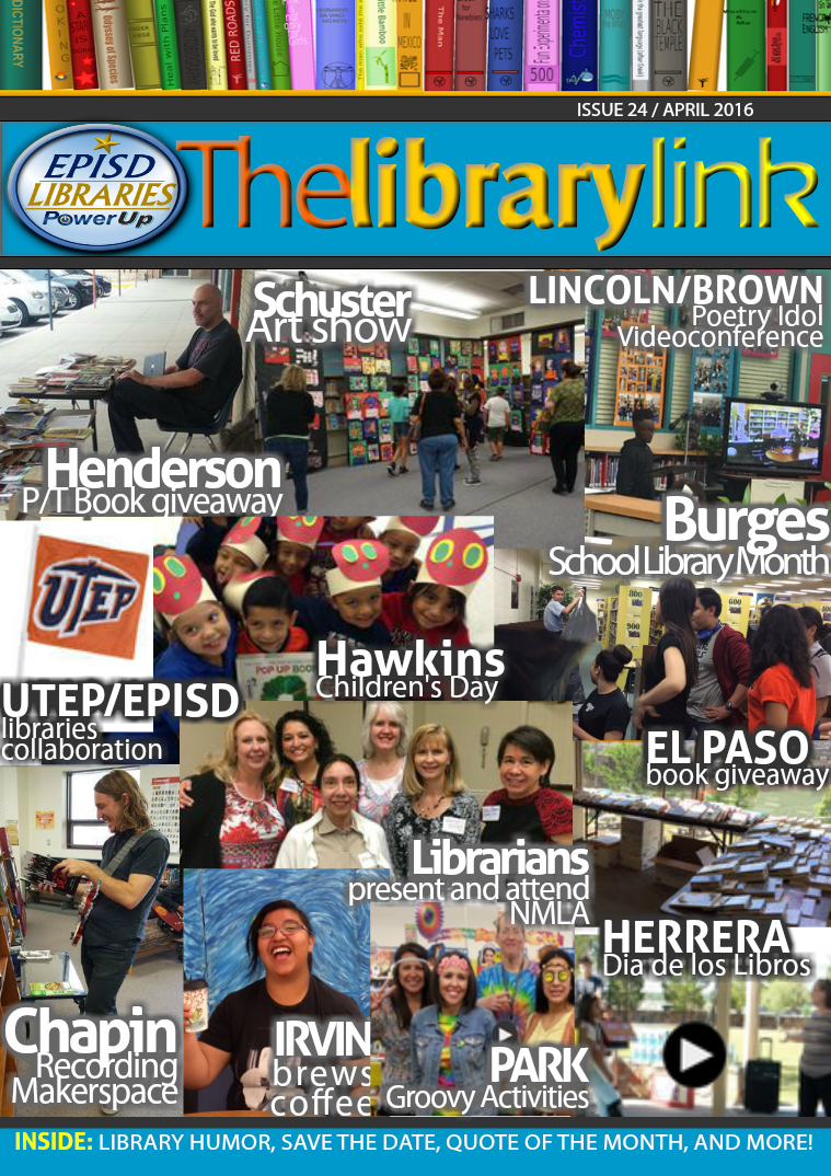 The Library Link April/May 2016