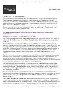 Railway Management System Market worth 57.88 Billion USD by 2021