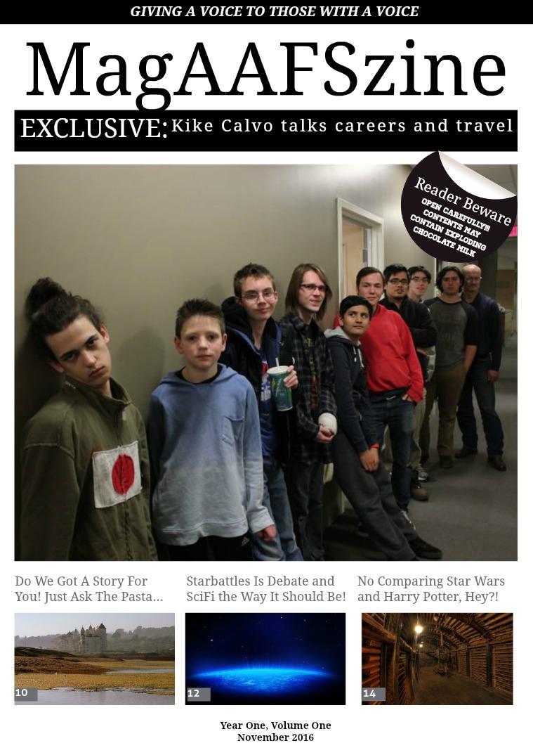 MagAAFSzine November 2016, Issue 1