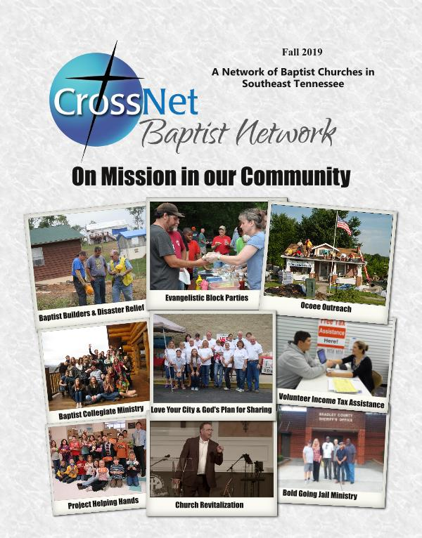 CrossNet Baptist Newsletter