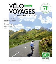 Vélo Québec Voyages - brochure 2019